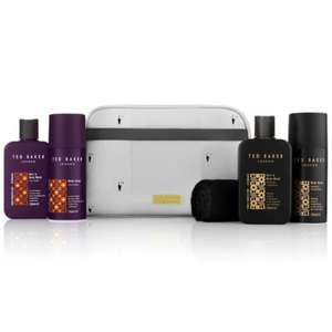 Ted Baker Tropical Traveller Wash Bag Set (was £30) Now £15 c&c @ Boots