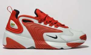 Nike White & Red Zoom 2k Trainers - £54.99 @ Schuh