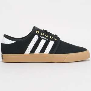 Up to 50% off Adidas shoes today only @ Route One e.g. Adidas Seeley Skate Shoes - £38.99