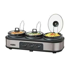 Bella Triple Slow Cooker and Warming Station now £34.99 @ Argos C&C