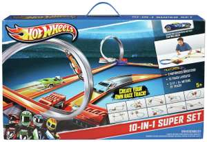 Hot Wheels 10 in 1 Playset - £24.99 @ Argos (FREE Click & Collect).