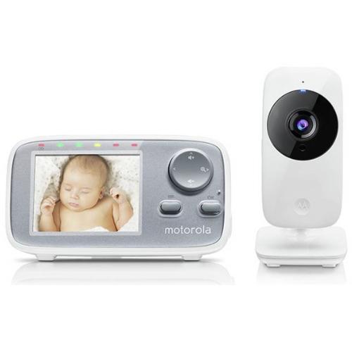 Motorola MBP 482XL Wow Video Baby Monitor / Sound / Room temperature / Night vision  £49.99 @ Argos - Free C&C