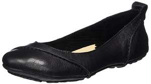 Hush Puppies Women's Janessa Leather Ballet Flats now £21.90 delivered at Amazon