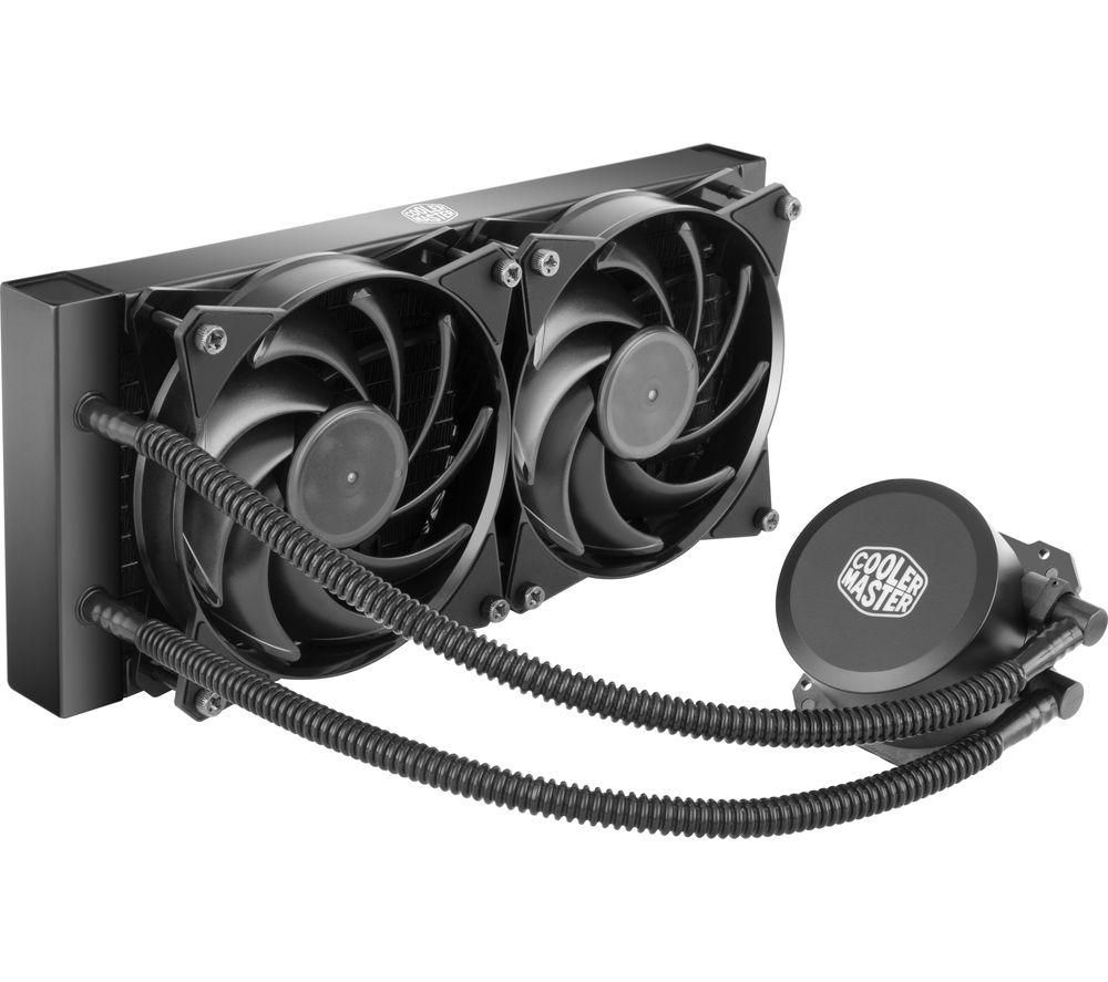Cooler Master MasterLiquid Lite 240 All-in-One Liquid CPU Cooler - £44.99 @ Currys / PC World
