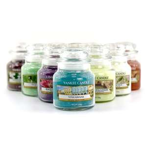 3 Small Yankee Candle Jars £7.60 delivered with code @ Yankee Bundles