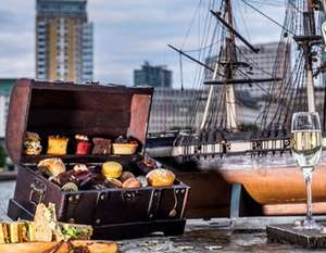 (River Thames Location) Afternoon tea for two including bottomless Prosecco (£10.15 p/p) £20.30 @ Groupon (Using code)