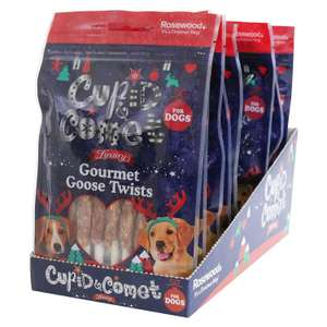Cupid & Comet Rosewood Christmas Individually Sealed Packets For Dogs 21 packs of 8 - £6.93 @ Amazon Prime / £11.42 Non Prime