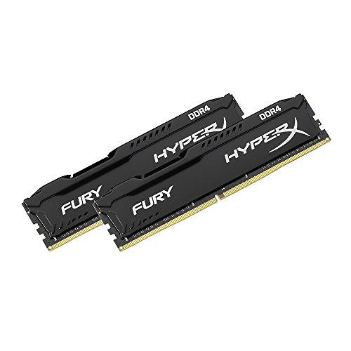 HyperX FURY DDR4 16 GB (2x8 GB), 2666 MHz CL16 DIMM Memory Kit, £57.30 at Amazon France