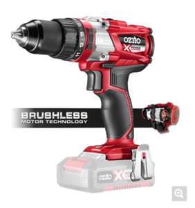 Ozito/Einhell Power X Change 18V Cordless Brushless Hammer Drill 2 x Batteries ( 2Ah & 4Ah ) & Fast Charger £95 @ Homebase C&C ( See post )