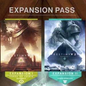 FREE: Destiny 2 - Expansion 1 & 2 : The Curse of Osiris and Warmind on PS4