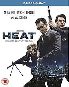 HEAT Remastered - 2 Disc Blu-Ray £4.99 @  Amazon sold by The_Entertainment _Store