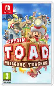 Captain Toad: Treasure Tracker for Nintendo Switch £25 @ Tesco