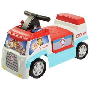 PAW Patrol PAW Patroller Ride On with 2 mini vehicles now £16.99 C+C @ Argos