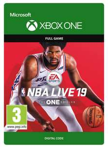 NBA Live 19 | Xbox One - Download Code - £12.50 @ Amazon