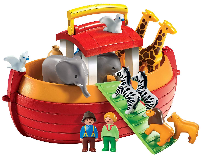 Playmobil 6765 1.2.3 Floating Take Along Noah´s Ark £16.66 (Prime) / £21.15 (non Prime) at Amazon