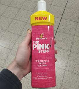Stardrops The Pink Stuff Miracle Cream Cleaner 99p @ Home Bargains
