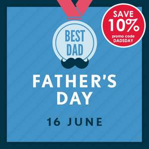 10% off Fathers day Gifts with Code @ Hawkins Bazaar