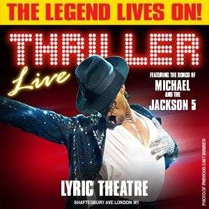 Today only - Thriller Live tickets £15 in June, all performances at Today Tix