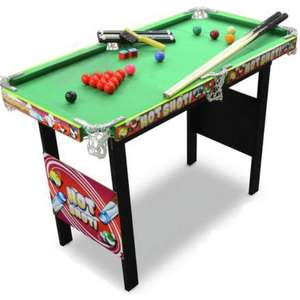 Chad Valley 3ft Snooker Table - £28.99    Chad Valley 4ft Snooker/Pool Game Table - £39.99 ( Link in OP )+ Free C&C @ Argos