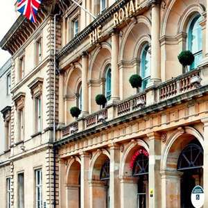 1 Night for Two with Breakfast with a Bottle of Wine for £49 at Royal Hotel Hull via Groupon