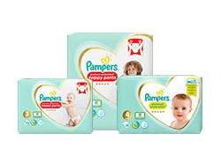 Online Only - 5 for £20 on selected Pampers nappies and nappy pants @ Boots