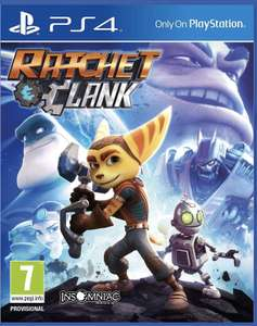 Ratchet and Clank (PS4) preowned £8.72 with code @ musicmagpie