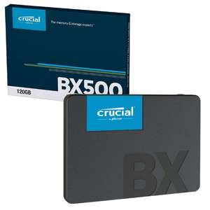 """Crucial BX500 3D NAND SATA III 2.5"""" Internal SSD Solid State Drive - 120GB Version for £15.99 Delivered @ 7dayshop"""