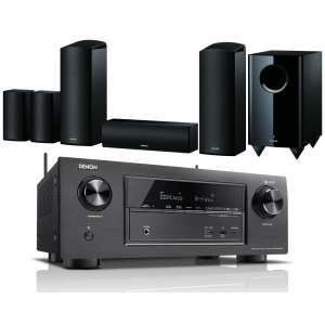 Denon AVR-X2500H AV Receiver w/ Onkyo SKS-HT588 Speaker Package 5.1.2 + Free cable bundle worth £142.99 - £699 @ Exceptional AV