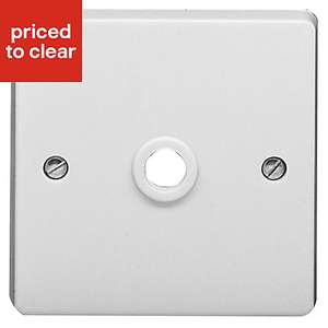Crabtree 20A Unswitched Cord outlet socket - £2 @ B&Q