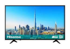 Hisense - 50-Inch 4K Ultra HD Smart TV with Freeview Play H50A6200UK - Black (2018 Model) [Energy Class A] - £308 @ Amazon