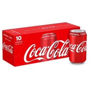 Coke 10x 330ml Fridge pack  B&M - £4