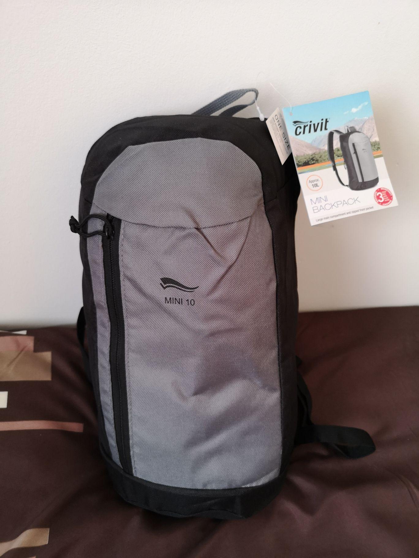 10L rucksack - instore @ LIDL (Derry)