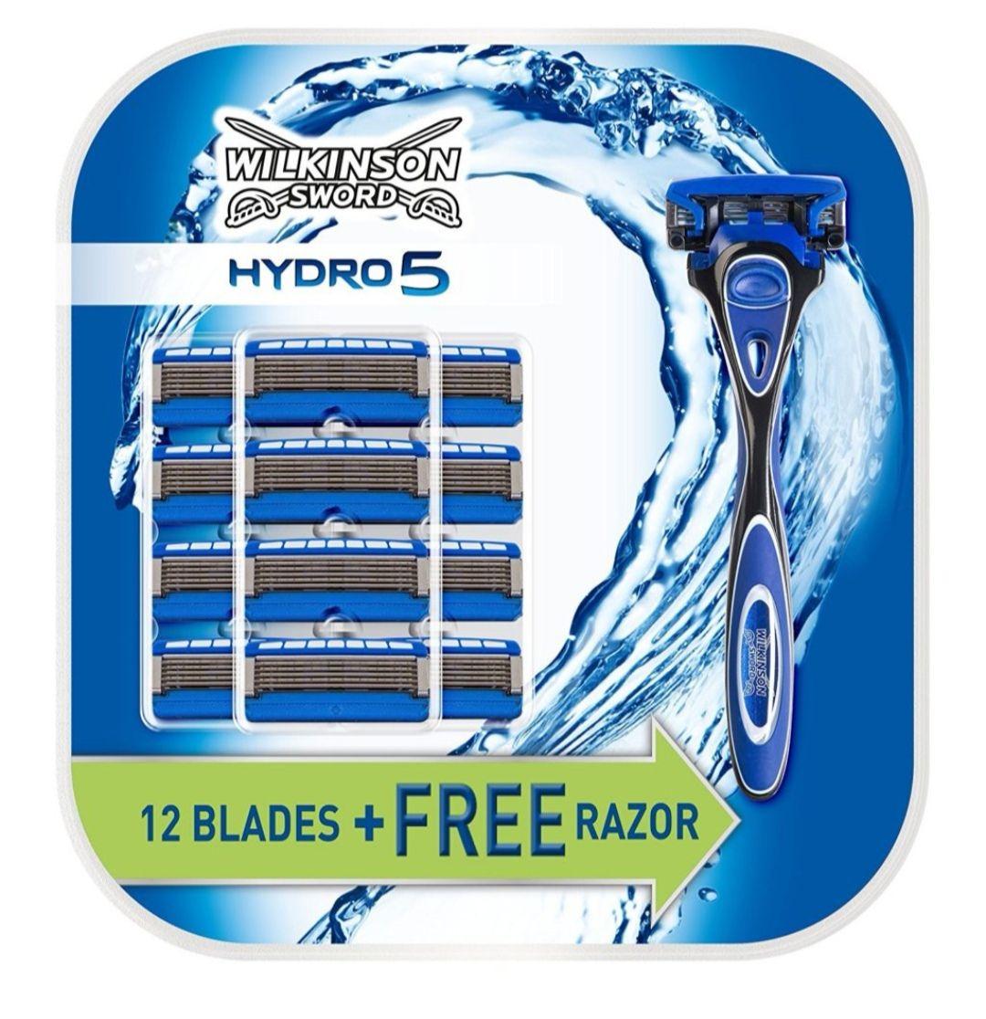 Wilkinson Sword Hydro 5. 13 Blades Inc Razor £14.99 delivered @ Wilkinson Sword
