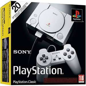 PlayStation Classic (Mini) £25 in-store and online (Click & Collect) @ Smyths Toys