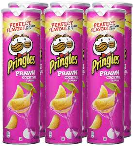 Pringles Prawn Cocktail Crisps 200 g (Pack of 6) @ Amazon £6.72 Prime £11.21 Non Prime.(See Post For Extra Discounts)