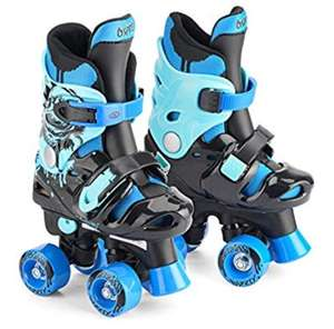 Osprey Children's Adjustable Roller Skates - Kids 4 Wheel Quad Skates £8.99 @ Dispatched from and sold by Pink And Blue Gifts