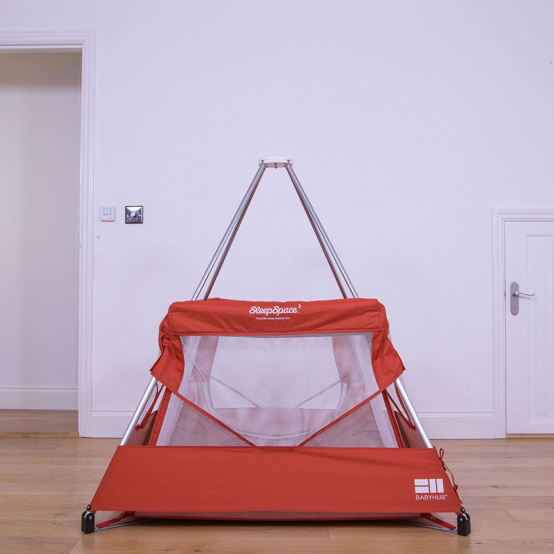 BABYHUB Red SleepSpace Premium Travel Cot £39.99 @ TK MAXX