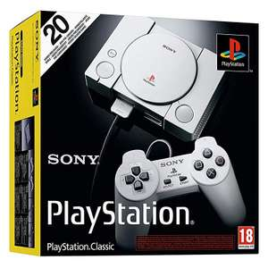 Playstation Classic Console now £26.99 @ Amazon