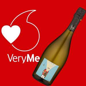Free £10 bottle of fizz with Majestic Wine VeryMe Vodafone