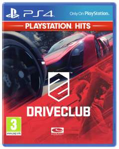 Driveclub PS4 for £9.99 @ Argos