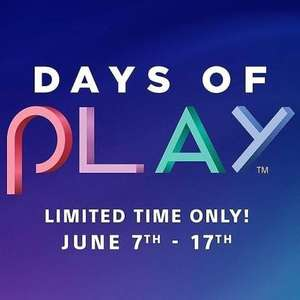 Days of Play Offers at PlayStation PSN Store UK - All Deals