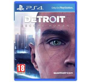 (PS4) Detroit: Become Human £13.99 /  The Last Of Us £9.99 / Bloodborne £9.99 @ Sainsbury's (+£2 c&c)