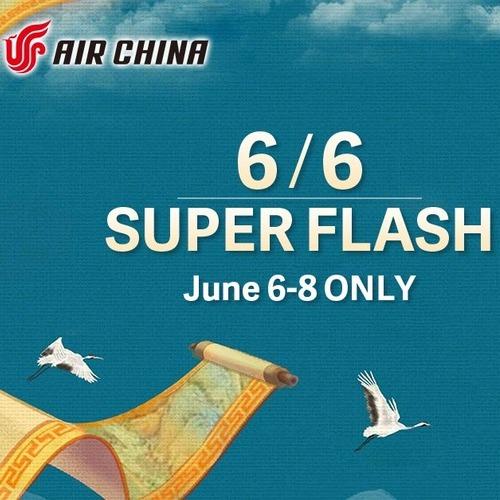 Air China sale. London to Sydney round trip £482.82
