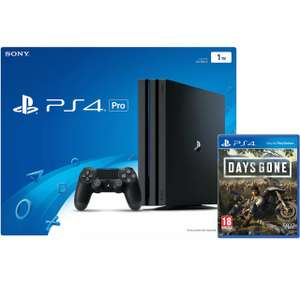 PS4 Pro Gamma Chassis 1TB Black with Days Gone £279.20 with code @ AO eBay