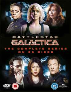 Battlestar Galactica: The Complete Series (Box Set DVD) £13.49 with code @ Zoom