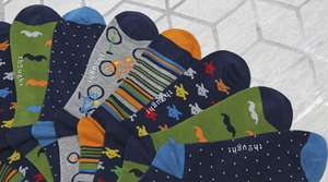 2 Pairs of Bamboo Socks For £10 with code @ English Heritage