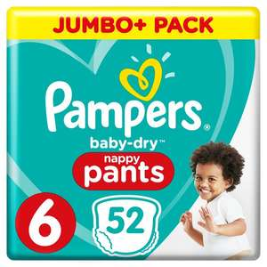 Pampers Size 6 pants 52 - £8 @ Morrisons