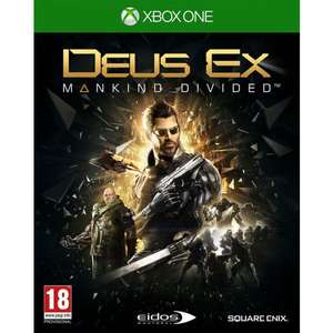Deus Ex Mankind Divided Day One Edition (Xbox One) - £3.75 with code delivered @ The Game Collection
