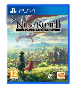 Ni No Kuni II: Revenant Kingdom (PS4) for £8.50 with code delivered @ The Game Collection