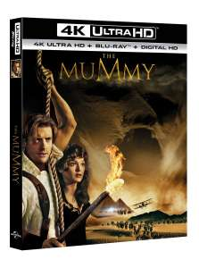 The Mummy (4K Ultra HD + Blu-ray + Digital Download) [UHD] £8.99 delivered with code @ Zoom